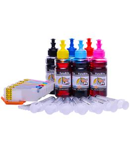 Refillable  Multipack Cheap printer cartridges for Epson XP-750  dye ink
