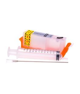 Empty Refillable PGI-550PGBK Pigment Black Cheap printer cartridges for Canon Pixma IP8750 6496B001