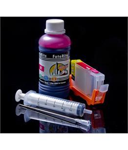 Refillable BCI-6M Magenta Cheap printer cartridges for Canon Pixma IP3000 4707A002 dye ink