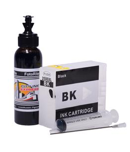 Refillable pigment Cheap printer cartridges for Canon MB5150 9254B001AA PGI-2500XL-BK Black