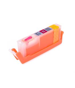 Magenta printhead cleaning cartridge for Canon Pixma MG5753 printer