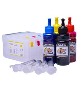 Refillable pigment Cheap printer cartridges for Epson WF-5110DW C13T79154014 T7911-4 Multipack