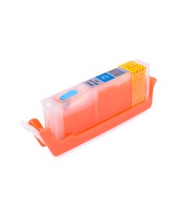 Cyan printhead cleaning cartridge for Canon Pixma TS8053 printer