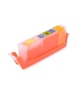 Yellow printhead cleaning cartridge for Canon Pixma TS8052 printer