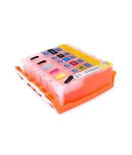 Multipack printhead cleaning cartridge for Canon Pixma TS8052 printer