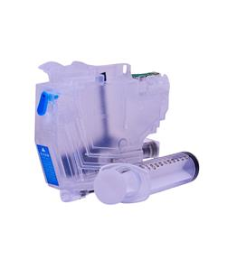 Empty Refillable LC-3219C Cyan Cheap printer cartridges for Brother MFC-J6530DW LC-3217C