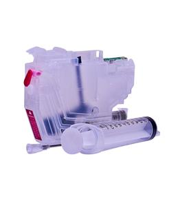 Empty Refillable LC-3219M Magenta Cheap printer cartridges for Brother MFC-J6530DW LC-3217M