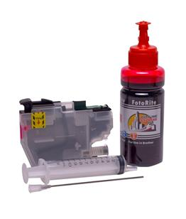 Refillable LC-3211M Magenta Cheap printer cartridges for Brother MFC-J890DW LC-3213M dye ink