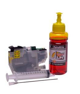Refillable LC-3211Y Yellow Cheap printer cartridges for Brother MFC-J890DW LC-3213Y dye ink