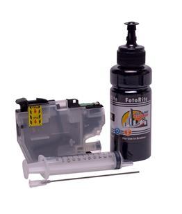 Refillable LC-3211BK Black Cheap printer cartridges for Brother DCP-J774DW LC-3213BK dye ink