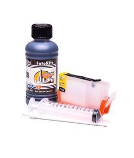 Refillable CLI-8BK Black Cheap printer cartridges for Canon Pixma IP6600D 0620B001 dye ink