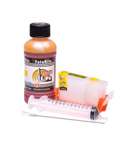 Refillable CLI-8Y Yellow Cheap printer cartridges for Canon Pixma IP6600D 0623B001 dye ink