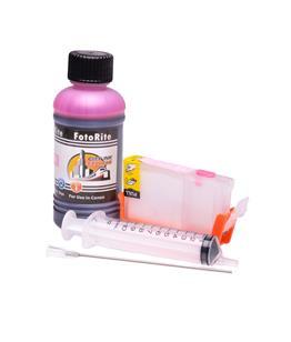 Refillable CLI-8PM Photo Magenta Cheap printer cartridges for Canon Pixma IP6600D 0625B001 dye ink