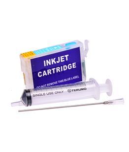 Empty Refillable T0805 Light Cyan Cheap printer cartridges for Epson Stylus P50 C13T08054010
