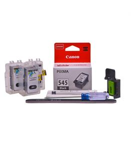 Refillable pigment Cheap printer cartridges for Canon Pixma TS3352 PG-545 PG-545XL Pigment Black