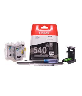Refillable pigment Cheap printer cartridges for Canon Pixma MG3550 PG-540 PG-540XL Pigment Black