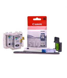 Refillable pigment Cheap printer cartridges for Canon Pixma MP260 PG-510 PG-512 Pigment Black