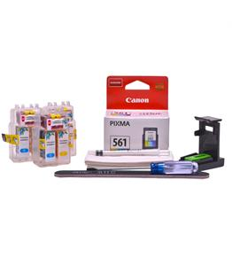 Refillable CL-561 Colour Pod Cheap printer cartridges for Canon Pixma TS7450 CL-561 dye ink