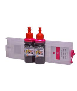 Refillable T9443 Magenta Cheap printer cartridges for Epson WF-C5710DWF T9453 dye ink