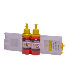 Refillable T9444 Yellow Cheap printer cartridges for Epson WF-C5710DWF T9454 dye ink