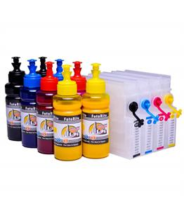 Refillable pigment Cheap printer cartridges for Epson WF-8590DTWF T7551-4 T7561-4 Multipack