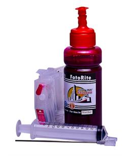 Refillable pigment Cheap printer cartridges for Brother MFC-J6530DW  LC-3219M Magenta