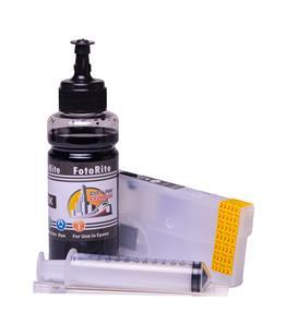 Refillable T3581 Black Cheap printer cartridges for Epson WF-4730DTWF C13T35814010 dye ink