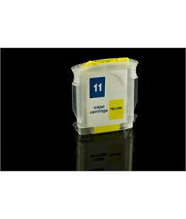 Empty Refillable HP 11 Yellow Cheap printer cartridges for HP Designjet 110nr plus C4838AE
