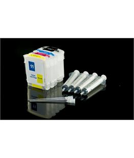 Empty Refillable HP 10-11 Multipack Cheap printer cartridges for HP CP 1700D