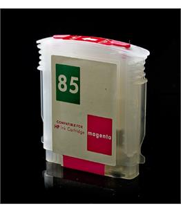 Empty Refillable HP 85 Magenta Cheap printer cartridges for HP Designjet 130 C9426A