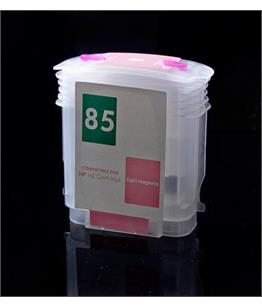 Empty Refillable HP 85 Light Magenta Cheap printer cartridges for HP Designjet 130 C9429A