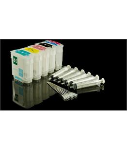 Empty Refillable HP 85 Multipack Cheap printer cartridges for HP Designjet 130gp