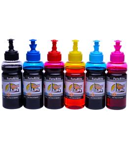 Cheap Multipack dye ink refill replaces Epson Stylus R1400