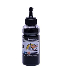 Cheap Black dye ink refill replaces Brother MFC-J4710DW - LC123BK,LC125BK,LC127BK