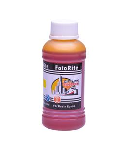 Cheap Yellow dye ink refill replaces Epson Stylus R245 - T0554