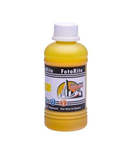 Cheap Yellow pigment ink refill replaces Epson Stylus R240 - T0554