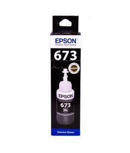Epson T6731 Black original dye ink refill Replaces Stylus P50