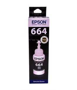 Epson T6641 Black original dye ink refill Replaces Stylus B42WD