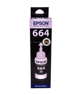 Epson T6641 Black original dye ink refill Replaces C13T12814010