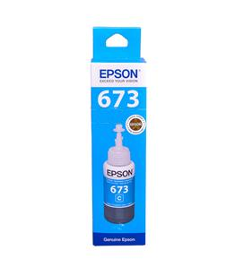 Epson T6732 Cyan original dye ink refill Replaces Stylus PX730WD