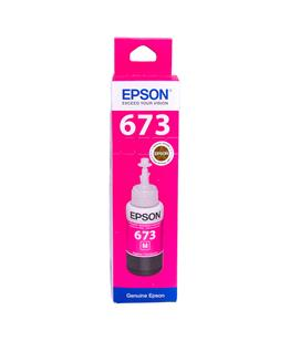 Epson T6733 Magenta original dye ink refill Replaces Stylus P50
