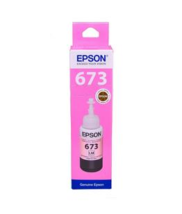 Epson T6735 Light Magenta original dye ink refill Replaces XP-850