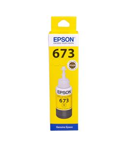 Epson T6734 Yellow original dye ink refill Replaces ET-L800