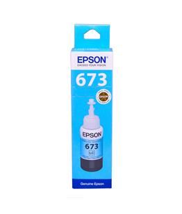 Epson T6735 Light Cyan original dye ink refill Replaces ET-L800