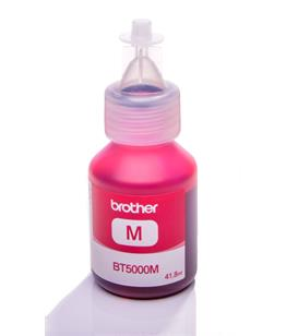 Brother BT5000M Magenta genuine dye ink refill Replaces Fax 1840c