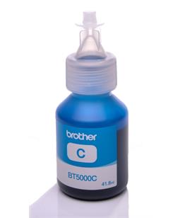 Brother BT5000C Cyan genuine dye ink refill Replaces DCP-J552DW