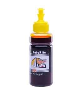 Cheap Yellow dye ink replaces HP Envy 5644 - HP 62,HP 62XL