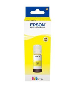 Epson T6644 Yellow original dye ink refill Replaces WF-4720DWF
