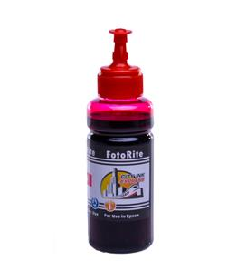 Cheap Magenta dye ink refill replaces Epson ET-4750 - 102