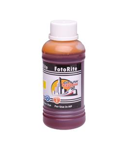 Cheap Yellow dye ink refill replaces HP Deskjet HP 11 - C4838AE